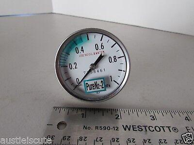 Nks Stainless Steel Npt Pressure Gauge 0-1 Mpa High Purity Swagelok Tube Npt