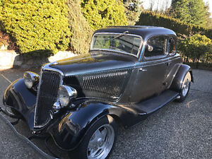 1934 ford coupe 5 window for sale