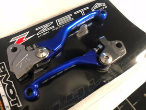ZETA Pivot Lever Set for KX and YZ Dirt Bikes