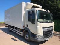 2014 64 DAF LF 210 Euro 6 12 ton gray adams fridge box GAH freezer unit