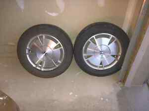 4 rims size 15 ,, 5 bolts from honda civic
