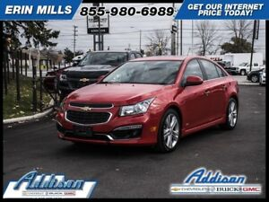2015 Chevrolet Cruze 2LTRS Edition Navi Sunroof Leather