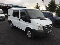Ford Transit crew van 2.4TDCi ( 140PS ) 6 speed T330 swb 2008 58 Reg