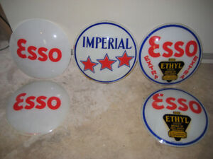 Esso Glass Globes