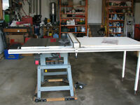 10 Inch Delta Table Saw with Biesemeyer  Fence