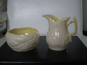 Belleek Porcelain Lily Cream and Sugar Kitchener / Waterloo Kitchener Area image 1