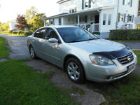 2002 Nissan Altima 4dr. Sedan