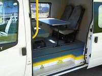 Ford Transit 140 T350L High roof Jumbo Crew Van Low Mileage [ Only1,657 miles ]