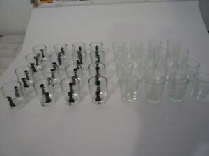 Shot glasses, chess, others