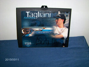 ALEXANDRE TAGLIANI COLOR CARD IN FRAME-PLAYERS RACING COURSE