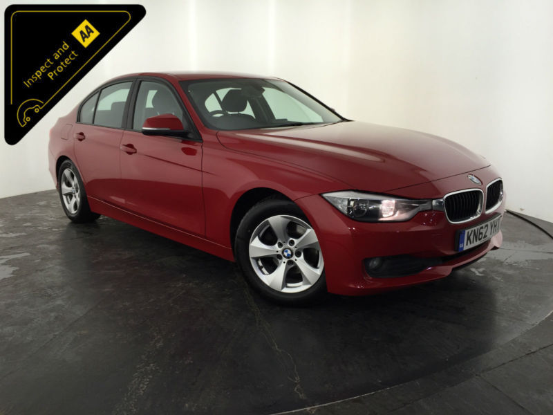 2012 62 BMW 320D EFFICIENT DYNAMICS DIESEL 1 OWNER FROM NEW FINANCE PX