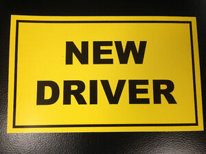 NEW DRIVER SIGN Edmonton Edmonton Area image 1