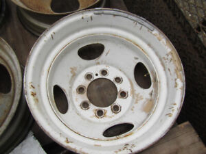 4---16.5  in Ford Duel Steel Rims