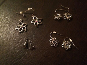 Groups of Earrings - jewellery sets