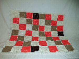 New Knitted Baby Afghan for Sale - $15