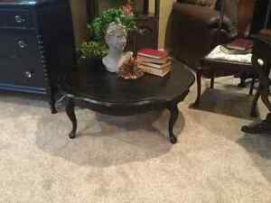 Large Round French Provincial a Coffee Table