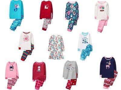 Nwt Gymboree Girls Gymmies Sz 4 5 6 7 8 10 12 14 Holiday Christmas Upick Pajamas