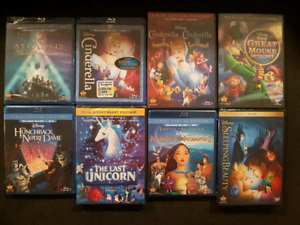 New Sealed Disney movies.