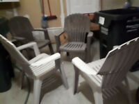 Good Condition 2 Patio Chairs