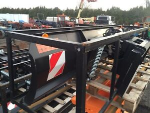 """86"""" and 96"""" Hydraulic Snow blade for Skid Steer Windsor Region Ontario image 5"""