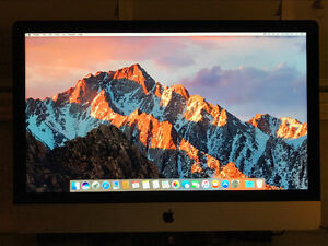 "Late 2012 Apple iMac 27"" i5 3.2GHz 1TB 16GB 1600MHz RAM - MINT"