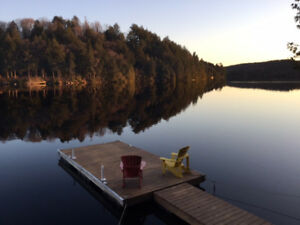 Summer cottage rental Haliburton Highlands