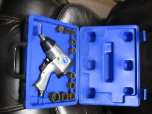 "1/2"" Impact wrench and socket kit"