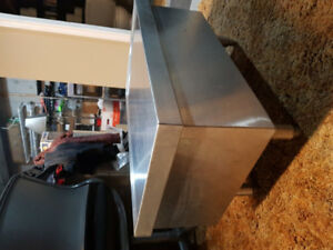 Stainless steel table, kitchen grade $80