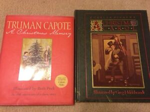 Classic christmas illustrated books