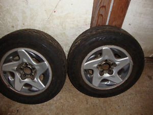 GoodYear Eagle GT all seasons 225/60R16 tires and wheels