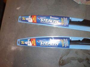 Two Michelin Stealth Wiper Blades 24 inch