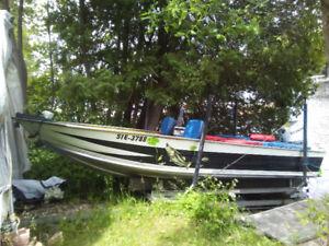 17'5 50hp aluminum boat