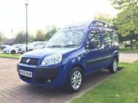 FIAT DOBLO DYNAMIC 1.4 PETROL WITH DISABLED RAMP