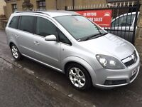 VAUXHALL ZAFIRA DESIGN (06) FULL SERVICE HISTORY, 7 SEATS, 1 OWNER , IMMACULATE £1895