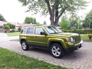 Jeep Patriot 2012 FWD with 4WD option and only 94,500km