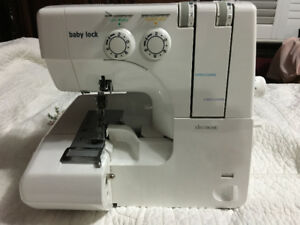 Serger sewing machine 2-4 threads