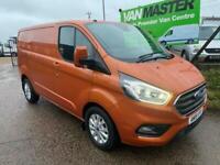 2019 Ford Transit Custom 2.0 300 EcoBlue Limited L1 H1 EU6 5dr Panel Van Diesel