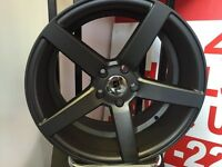 18x9 Ruffino alloy wheels 5x112 +38 offset