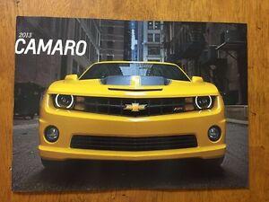WANTED - 2013 Camaro Sales Brochure Catalog