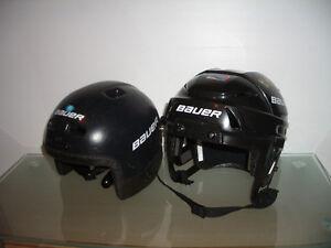 """Helmet / Casque """""""" BAUER """""""" size S ( 47-52 cm ) adjustable"""