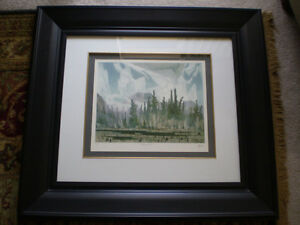 """Full Signature A.J. Casson-""""Morning Mist""""-Limited Edition Print"""