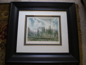 """Full Signature A.J. Casson-""""Morning Mist""""-Limited Edition Print Kitchener / Waterloo Kitchener Area image 1"""