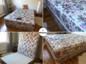 MATTRESS & SPRING BOX in Excellent Condition for sale