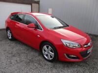 2013 Vauxhall Astra 1.7 CDTi 16V 130 SRi 5dr 5 door Estate