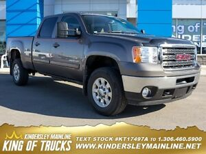 2013 GMC Sierra 2500HD SLT  - Leather Seats -  Bluetooth -  Memo