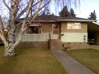 North side 2 bedroom house for rent in Taber. Utilities included