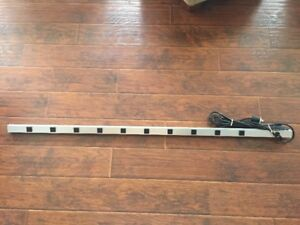 10 Outlet 48 Inch Power Strip with twist-Lock plug