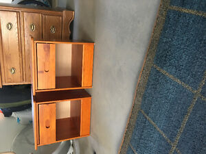 Small matching bedside tables