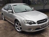 2005 '05' Subaru Legacy 2.5i, 4 Door Saloon, 4WD, AWD, Manual, Petrol.