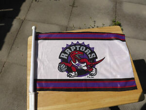 FS: 1994  Toronto Raptors (Inaugural Season) Car Window Flag